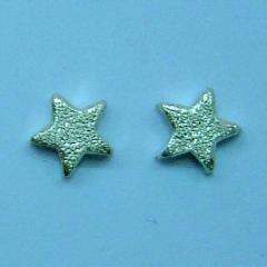 Star silver studs