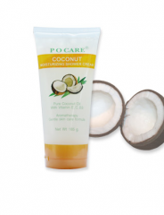 Coconut Moisturizing Shower Cream (185g.)