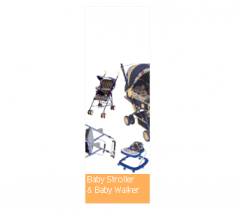 Baby stroller and baby walker