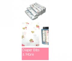 Diaper Bibs & More