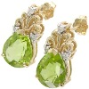 Antique Style 5.25 ct Peridot & Diamond