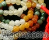108 Pcs. Multi Color Jadeite Bead