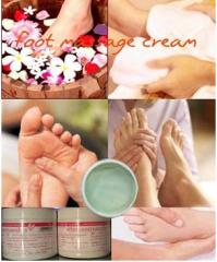 Foot massage oil