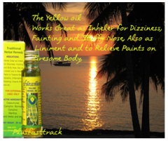 The Herbal yellow oil