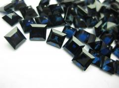 Blue sapphire calibrated