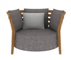 Bone lounge chair