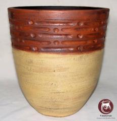 Thai color pots
