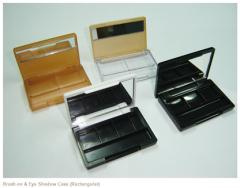 Brush-on & Eye Shadow Case (Rectangular)