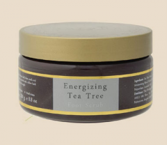 Energizing Tea Tree Foot Scrub.