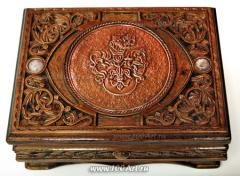 Box wooden vintage