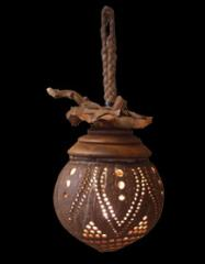 Mountain Dew Coconut shell Lamp CL17