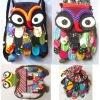 Thai Handmade Patchwork Owl Backpack Bags