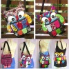 Thai Handmade Patchwork Owl Sling Bags