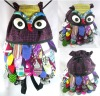 Thai Handmade Large Owl Backpack Bags XXL Big Bag