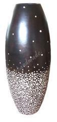 Floorstand Mango Wood Vase