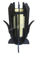 Teak / Bamboo Lamp
