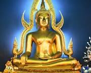 Golden buddha Thai
