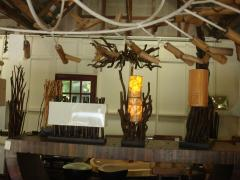 Thai Bamboo Lamp MHL002