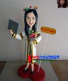 Dolls of the author polirezina