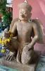 Kneeling Garuda, Sandstone Carving