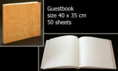 Guestbook white
