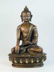 Figurine  Sitting Buddha 8 Inches