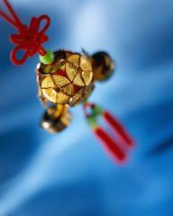 Wind Chime Ceramic Bo Leaf for Decorative accen