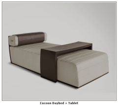 Cocoon Daybed + Tablet