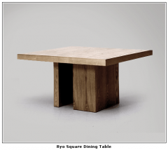 Ryo Square Dining Table
