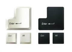 Mouse pad Keypad