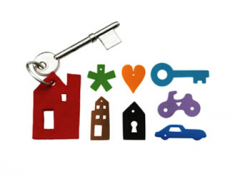 Keychain set keys visual