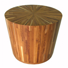 Sun Drum Side Table