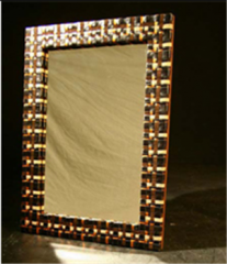 Mirror - Black-Copper