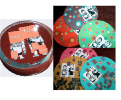 Coaster 60 pcs/set