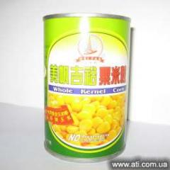 Canned Kernel Corn in Brine