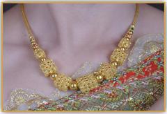 99.99% Petchburi gold jewelry PAWALUM necklace