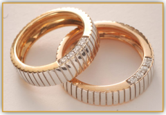 Wedding ring 'firm couple no.2