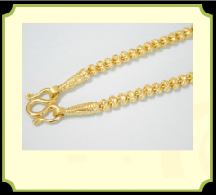 Necklaces Gold 96.5 %