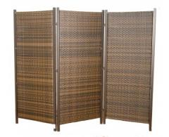 Wicker partition