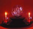 The Ganesh Glass Ball & Stone Base M