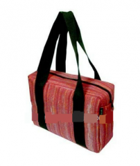 Handmade Thai Traditional Design Silk Immitation Fabric Bag for your Working days
