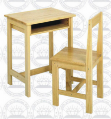 Tables and chairs in elementary school years 1-6
