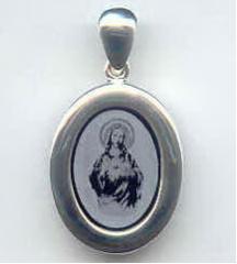 Jesus icon pendant