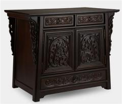 Teak wood cabinet CB-001