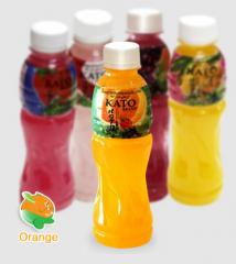 KATO 210ml fruit drink with nata de coco