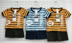 Short sleeve and short pant set for boy age 1-2