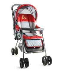 Сhildren red strollers