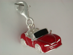 Red Car charm