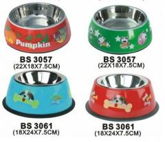 Stainless Steel Single Dog Bowl
