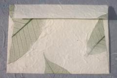 Handmade envelope.